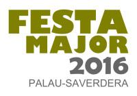 Festa major de la candelera 2016 a palau-saverdera